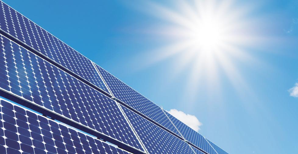 Erneuerbare Energie - Sonnenenergie